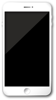 Smartphone White / Silver