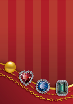 Jewelry Background 【Vertical】