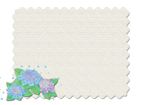 Hydrangea and hemp ★ 0149-C