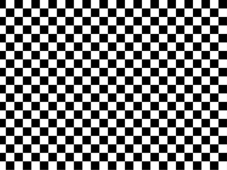 Checkered monochrome