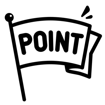 Mark of points