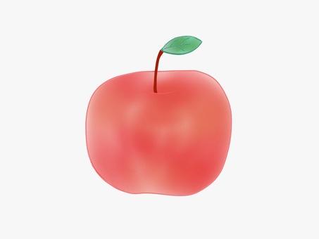 Apple watercolor