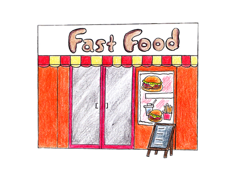 Fast food store