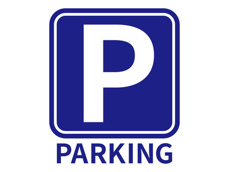 Parking lot mark