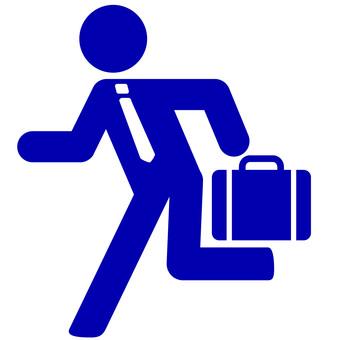 Businessman's pictogram