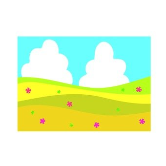Spring field icon