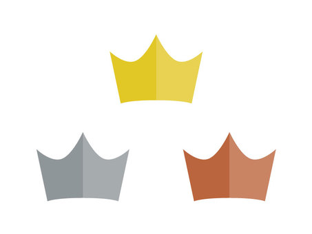 Crown set 2 (plain)
