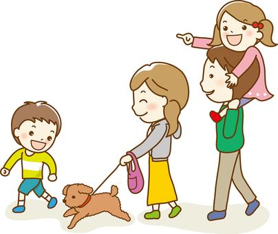 Dog walk 02