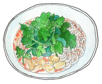 Four Vietnamese cuisine