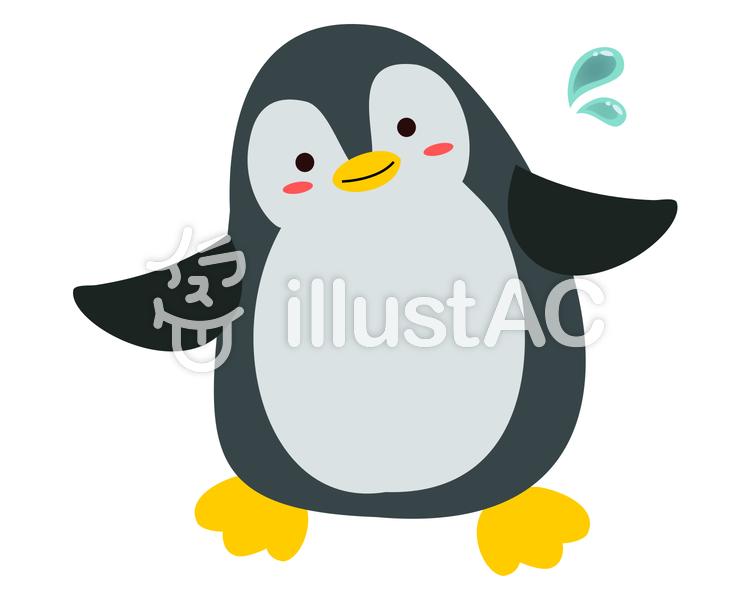 海の動物ペンギンイラスト No 1065244無料イラストならイラストac