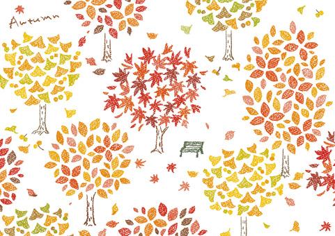 Autumn leaves scenery 1
