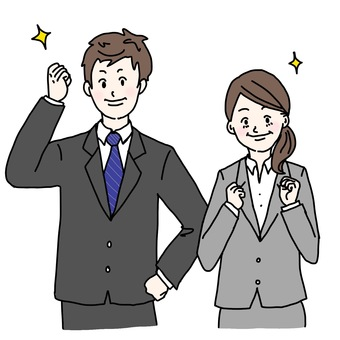 Illustration of new employee