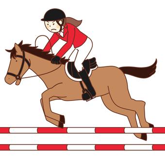 Equestrian / Rider (Female)