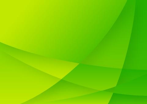 녹색 곡선으로 幾星 형 모양 추상 배경 소재