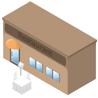 Miniature garden restaurant