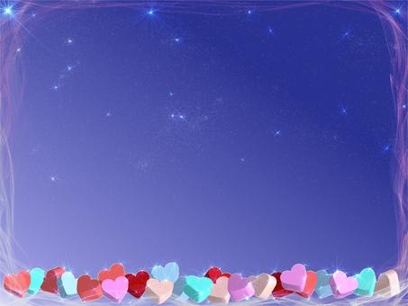 하트의 밤하늘
