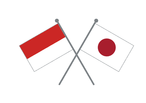 Flag (Japan & Indonesia)