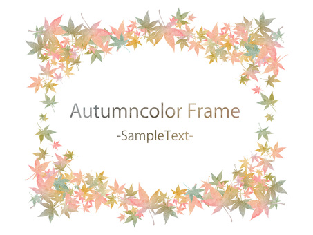 Fall color frame ver 65