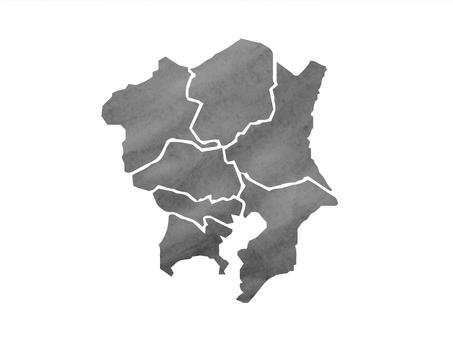 Kanto Region Map