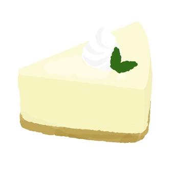 Creamy rare cheese cake