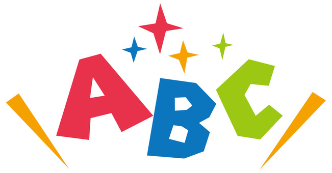 ABC logo ☆ English conversation school etc. ☆ POP material