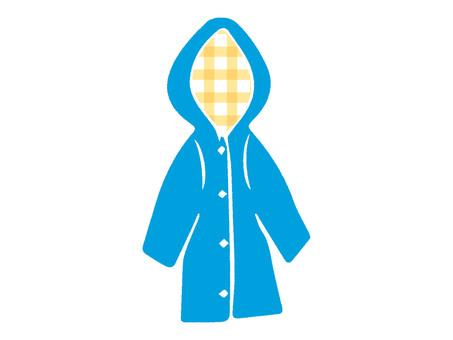 Raincoat blue