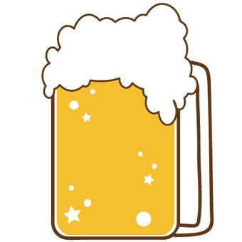 Illustration of a muggy beer