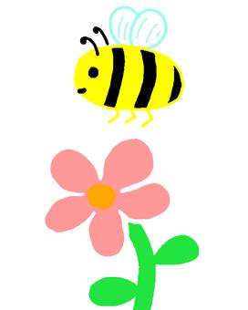 꿀벌과 꽃