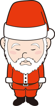 Bowing series (Santa Claus)