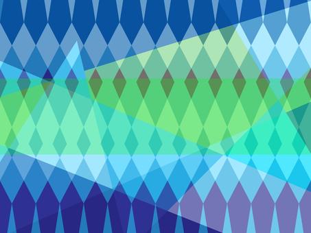 블루 계열 기하학적 배경