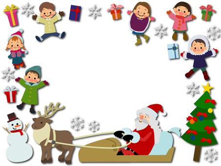 Children winter jump deformation 1