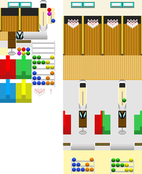 Map tip 【4】 Bowling alley