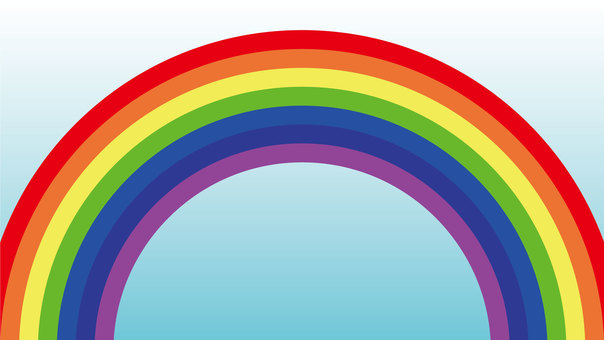 Computer wallpaper rainbow 16: 9