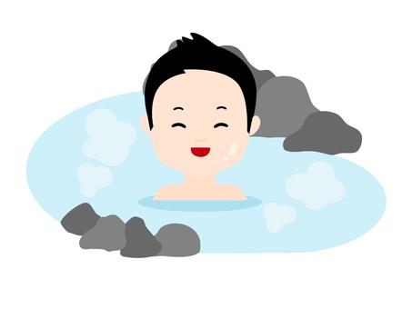 Men's bath