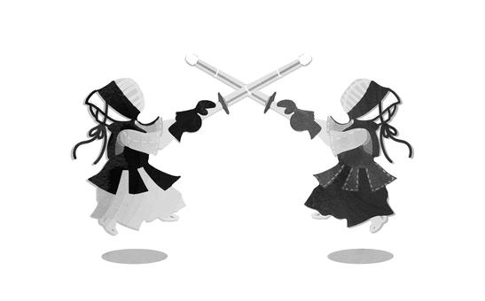 【Kendo】 Monochrome
