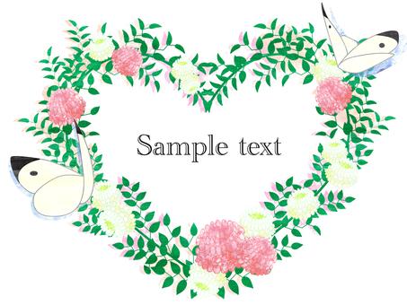 Butterflies / Flower Frame _ Frame