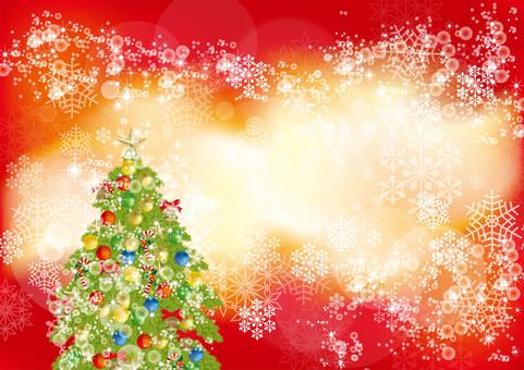 Christmas Tree & Snow 14