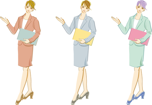 Suit Female - whole body