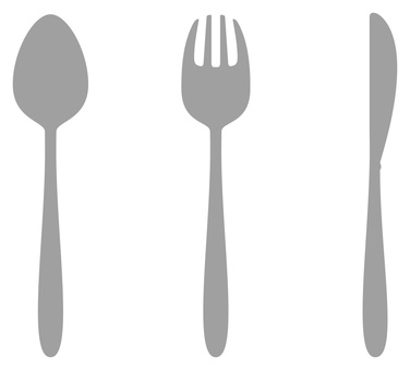 Spoons, knives and forks