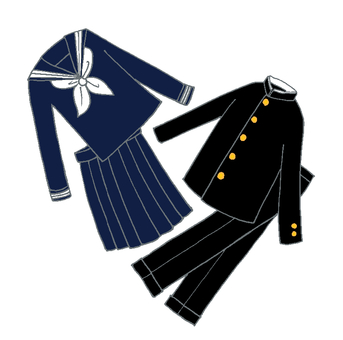 Collaboration Sailor suit
