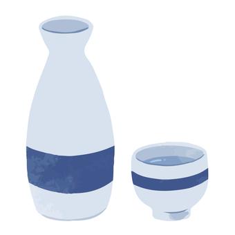 Tokutoshi and Inoguchi Sake