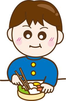 Illustrations Free boys cute bento