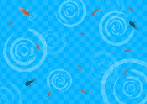 和風金魚背景