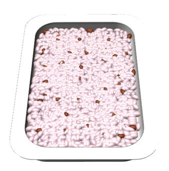 Retort cooked rice