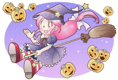 Pumpkin and Girls Part 2
