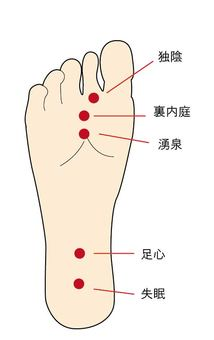 Key points of the foot