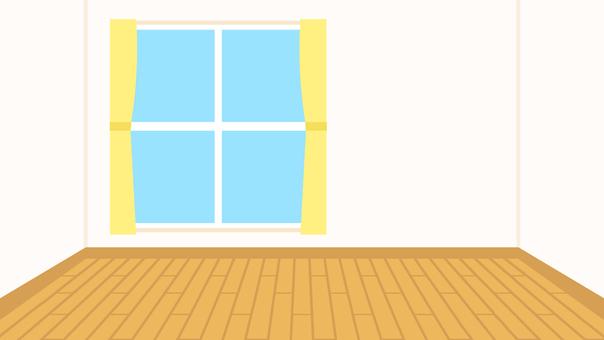 簡単な家 フローリング部屋 背景 ワイド