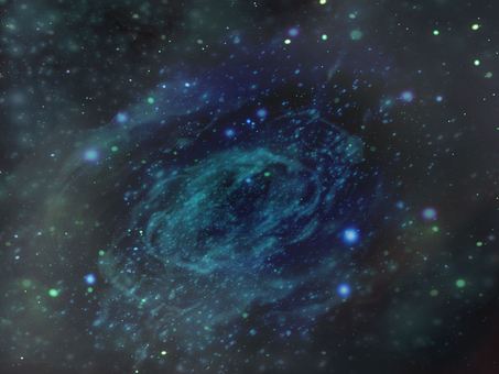 Space wallpaper spiral galaxy ③