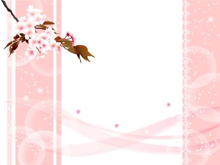 벚꽃의 프레임