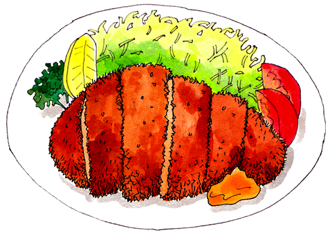 Tonkatsu set menu